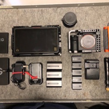 Rent Sony A7s ii cinema kit