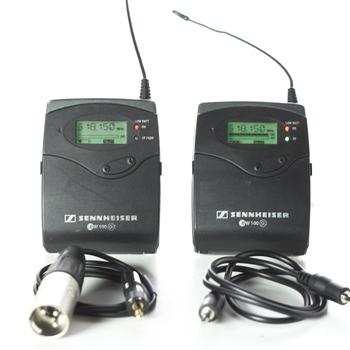 Rent Sennheiser G2 Wireless (2) Lavalier Rental Kit