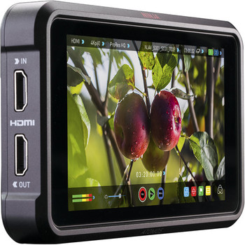 "Rent Atomos Ninja-5 HDMI Superbright 5"" Monitor/4k Recorder, Case, 4 batteries, Hood"