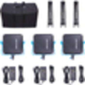Rent Dracast LED500 S-Series Bi-Color Interview Lighting Kit with Case, Swivel Mounts