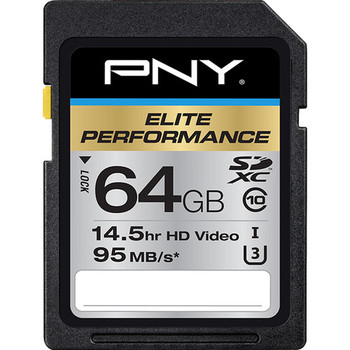 Rent PNY 64GB UHS-1 SDXC Memory Card