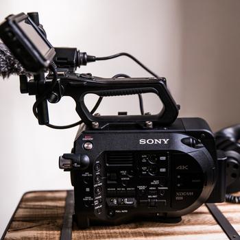 Rent Sony FS7 Documentary Kit with Lens, Audio Gear, and Monopod/Tripod