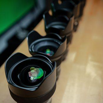 Rent 6 Lens Sigma Art Prime Kit Canon EF 14mm, 24mm, 35mm, 50mm, 85mm, 135mm