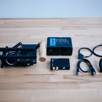 Rent Director's Monitor Teradek *Add your own Monitor* Wooden Camera Cage