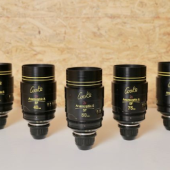 Rent COOKE ANAMORPHIC SPECIAL FLARE | 5 Lens Set