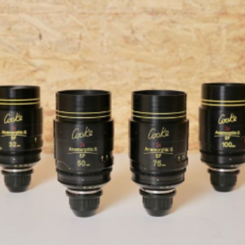 Rent COOKE ANAMORPHIC SPECIAL FLARE | 4 LENS SET