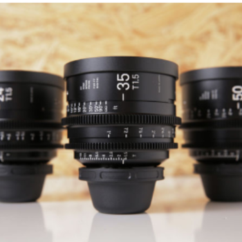 Rent Sigma Cine FF High Speed Primes | Set of 3