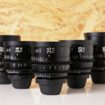 Rent Sigma Cine FF High Speed Primes | Set of 5