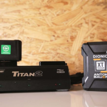 Rent Set of 2 Anton Bauer Dionic XT 150 w/ Titan 2 Dual Charger