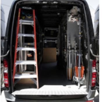 Rent Mercedes Sprinter *Grip Package Only* with driver/grip