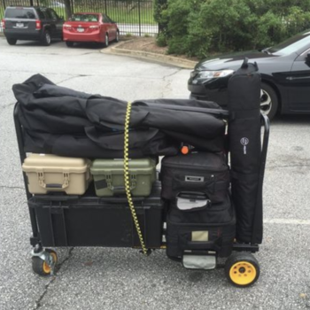 Rent Camera Gear Cart Rock-N-Roller R16RT and 600 lbs. Load
