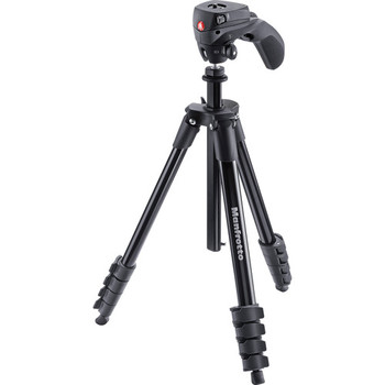 Rent Manfrotto Compact Action aluminium tripod with hybrid head