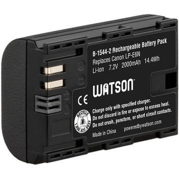 Rent Watson LP-E6N Lithium-Ion Battery Pack (7.2V, 2000mAh)