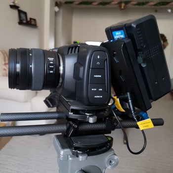 Rent Blackmagic Pocket Cinema Camera 4k plus External Monitor & Shotgun Package