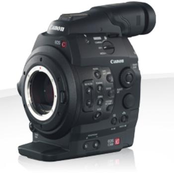 Rent Canon C300, 17-50mm Lens, Zacuto Follow Focus, Shoulder rig