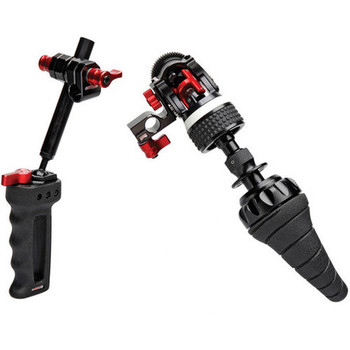 Rent Zacuto Double Handgrip & Follow Focus System For 15mm Rod Shoulder Rig