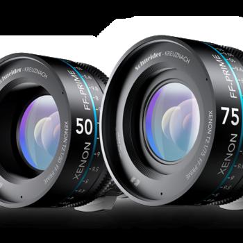 Rent Set of 5 Schneider Xenon FF Cinema Lenses (EF Mount, 25, 35, 50, 75, 100mm)