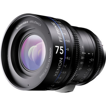 Rent Schneider Xenon FF 75mm T2.1 Cinema Prime Lens (EF Mount)