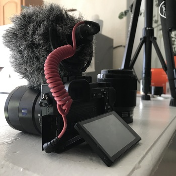 Rent Sony a6500 Video Package + ZEISS 24mm f/1.8, Sony 50mm f/2.8 Lenses, Rode VideoMic, 4 batteries, tripod, and case