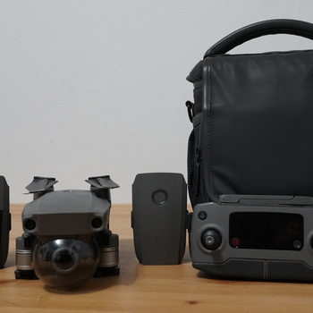 Rent DJI Mavic 2 Zoom Drone + Fly More Combo + Travel Bag