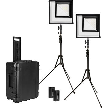 Rent  Westcott Flex Daylight LED Mat 2-Light Cine Travel Kit (1 x 1')