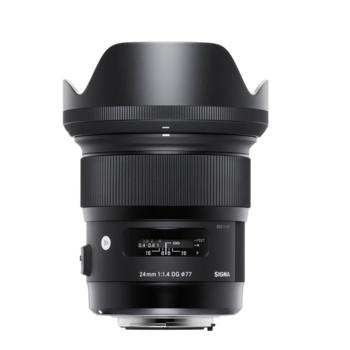Rent Sigma 24mm f/1.4 DG HSM ART Lens for Canon EOS DSLR