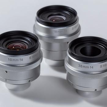 Rent Digital Bolex Kish Lens Set C Mount 10mm, 18mm, 38mm