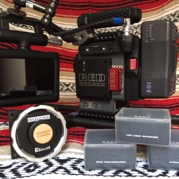 Rent RED Scarlet-W Dragon 5K EF/PL