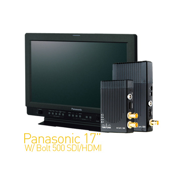 Rent Panasonic 17-in W/ Teradek Bolt 500 SDI/HDMI Set 1:1