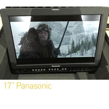 "Rent Panasonic 17"" Directors Monitor | SDI/HDMI"