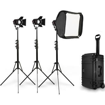 Rent  Fiilex 301 3-Light P360 LED Kit w/ Medium Softbox
