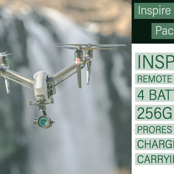 Rent DJI Inspire 2 Kit: Inspire 2, X5S Camera (5.2k ProRes Recording Enabled)