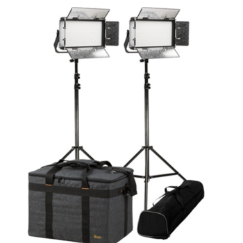 Rent ikan Rayden RB5 Half x 1 Bi-Color 2-Light Kit with Stands (8 hour batteries)