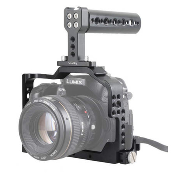 Rent Panasonic Lumix GH4 w/ cage and EF adapter