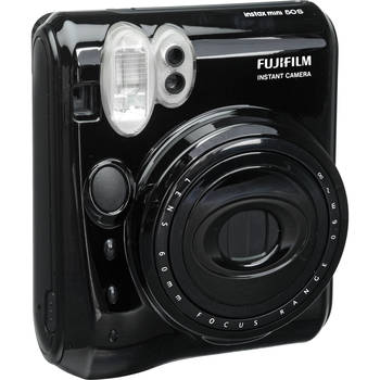 Rent Fujifilm Instax Mini 50S Instant Camera with 60mm Lens - Piano Black