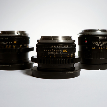 Rent Leica R 5 Lens Set