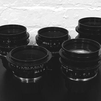 Rent Canon K35 Lens Set