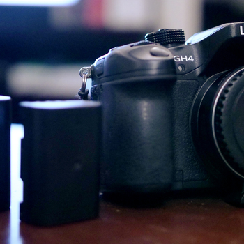 Rent Panasonic Gh4 with  Viltrox ef-m2 adapter