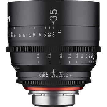 Rent Rokinon Xeen 35mm T1.5 Lens for Canon EF Mount