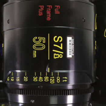 Rent Cooke S7 T2.0 PL Primes - 7 Lens Set (Choose from 18, 25, 32, 40, 50, 75, 100, 135)