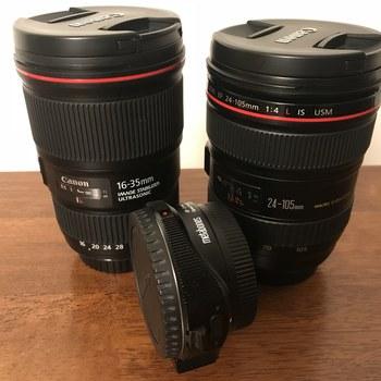 Rent Sony FS7, metabones adapter, 2 Canon zoom lenses