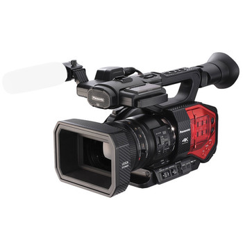 Rent Panasonic AG-DVX200 4K camcorder with case and memory cards