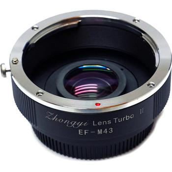 Rent Mitakon Zhongyi Canon EF Lens to Micro Four Thirds Camera Lens Turbo Adapter Mark II