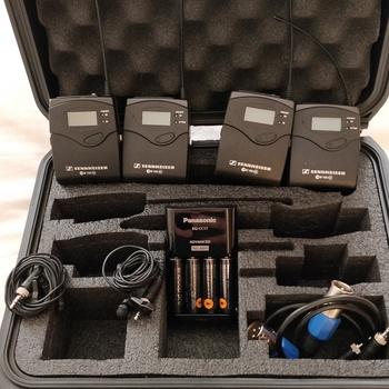 Rent (2) Sennheiser G3 Wireless Lavs  Kit