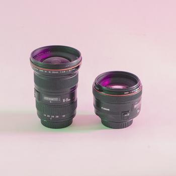 Rent Canon 50mm & 16 - 35mm & flash 580ex
