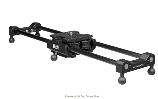 Cinevate 24 duzi camera slider 2