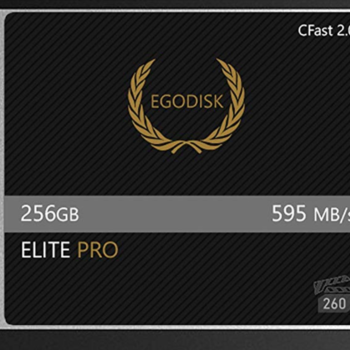 Rent EgoDisk 256gb CFast 2 - VPG 130