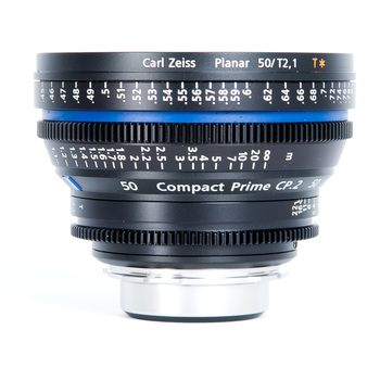 Rent Zeiss 50mm T2.1 CP2 EF Mount Compact Cine Prime Lens