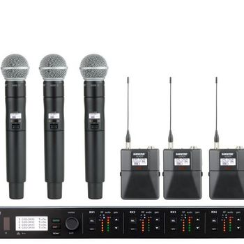 Rent Shure ULXD4Q Quad Channel Digital Wireless Receiver