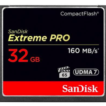 Rent Sandisk 32GB CF card 160MB/s Extreme pro